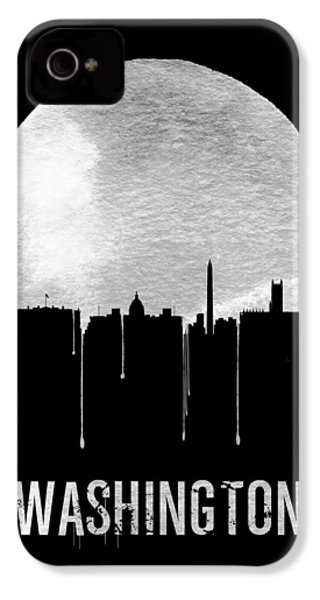 Memphis Skyline Black IPhone 4 / 4s Case by Naxart Studio