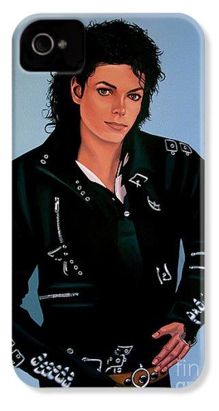 Michael Jackson Bad IPhone 4 / 4s Case by Paul Meijering