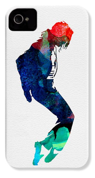 Michael Watercolor IPhone 4 / 4s Case by Naxart Studio