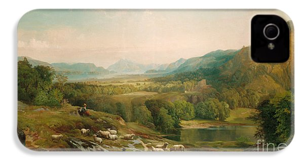 Minding The Flock IPhone 4 / 4s Case by Thomas Moran