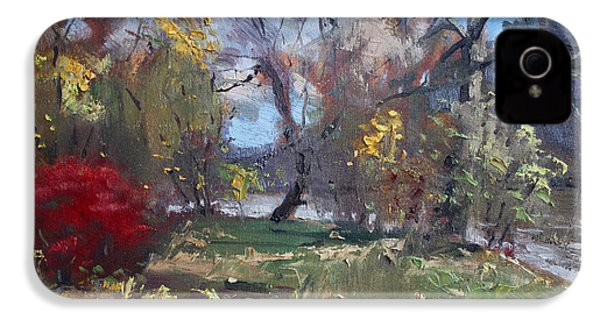 Mixed Weather In A Fall Afternoon IPhone 4 / 4s Case by Ylli Haruni