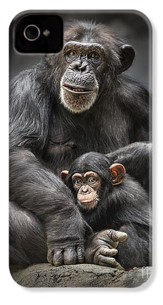 Mom And Baby IPhone 4 / 4s Case by Jamie Pham