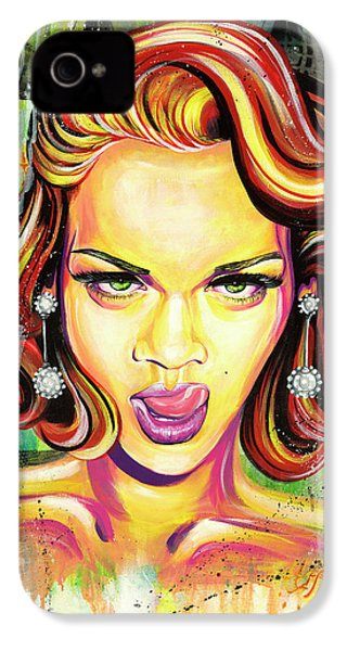 Monroe Gone Bad IPhone 4 / 4s Case by Aramis Hamer