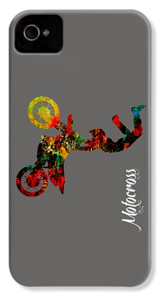 Motocross Collection IPhone 4 / 4s Case by Marvin Blaine