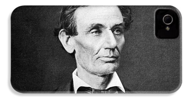 Mr. Lincoln IPhone 4 / 4s Case by War Is Hell Store