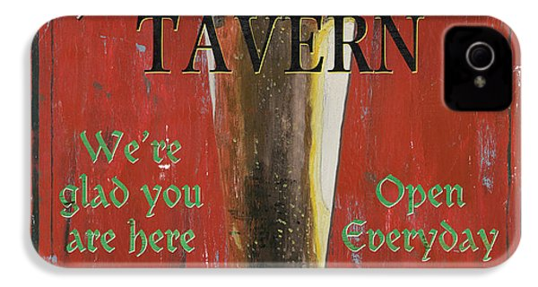 Murphy's Tavern IPhone 4 / 4s Case by Debbie DeWitt
