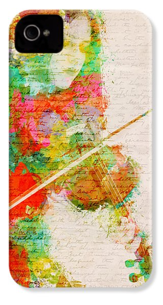 Music In My Soul IPhone 4 / 4s Case by Nikki Smith