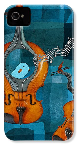 Musiko IPhone 4 / 4s Case by Aimelle