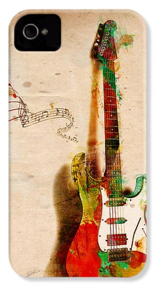 My Guitar Can Sing IPhone 4 / 4s Case by Nikki Smith