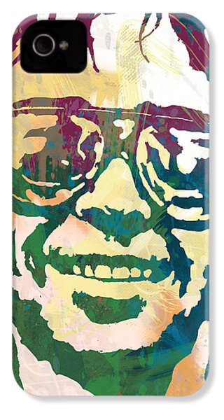 Neil Young Pop Stylised Art Poster IPhone 4 / 4s Case by Kim Wang