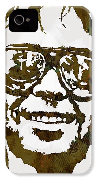 Neil Young Pop  Stylised Art Sketch Poster IPhone 4 / 4s Case by Kim Wang