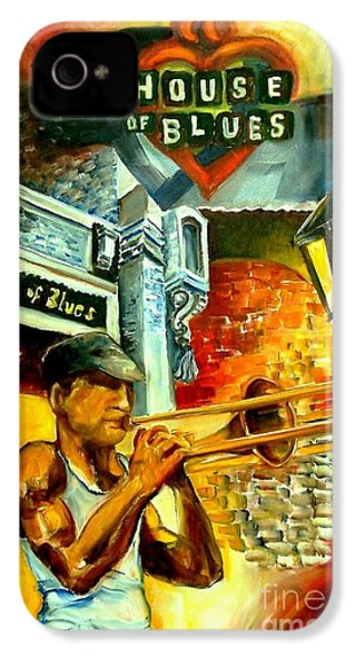 New Orleans' House Of Blues IPhone 4 / 4s Case by Diane Millsap