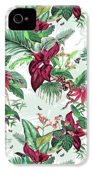 Nicaragua IPhone 4 / 4s Case by Jacqueline Colley