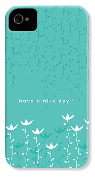 Nice Day IPhone 4 / 4s Case by Kathleen Wong