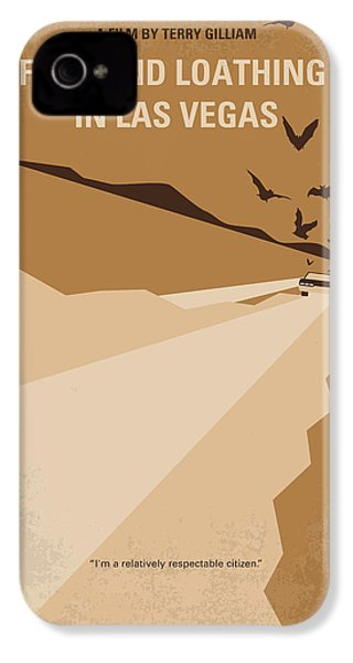 No293 My Fear And Loathing Las Vegas Minimal Movie Poster IPhone 4 / 4s Case by Chungkong Art