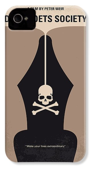 No486 My Dead Poets Society Minimal Movie Poster IPhone 4 / 4s Case by Chungkong Art