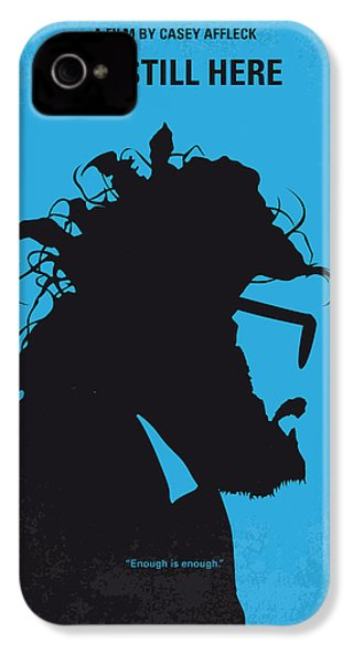 No637 My I Am Still Here Minimal Movie Poster IPhone 4 / 4s Case by Chungkong Art