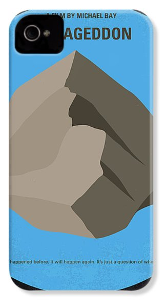 No695 My Armageddon Minimal Movie Poster IPhone 4 / 4s Case by Chungkong Art