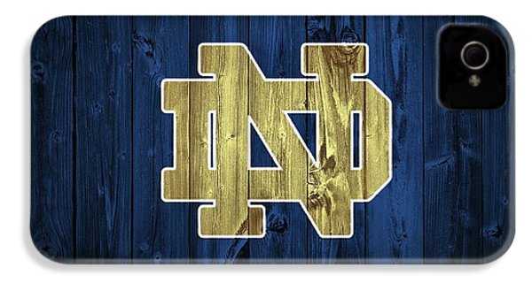 Notre Dame Barn Door IPhone 4 / 4s Case by Dan Sproul