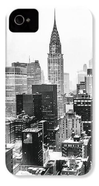 Nyc Snow IPhone 4 / 4s Case by Vivienne Gucwa