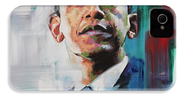 Obama IPhone 4 / 4s Case by Richard Day