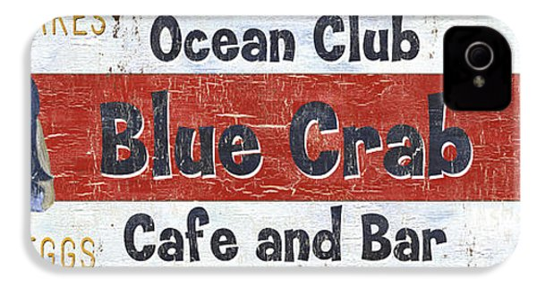 Ocean Club Cafe IPhone 4 / 4s Case by Debbie DeWitt