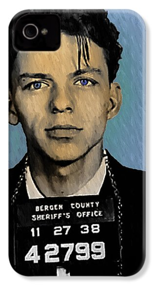 Old Blue Eyes - Frank Sinatra IPhone 4 / 4s Case by Bill Cannon