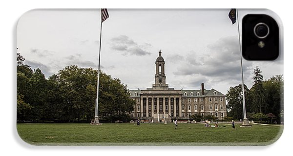 Old Main Penn State Wide Shot  IPhone 4 / 4s Case by John McGraw