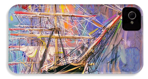 Old Ship 226 4 IPhone 4 / 4s Case by Mawra Tahreem