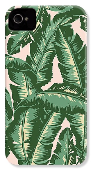 Palm Print IPhone 4 / 4s Case by Lauren Amelia Hughes