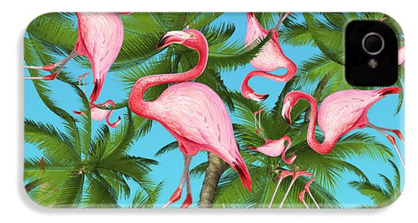 Palm Tree IPhone 4 / 4s Case by Mark Ashkenazi