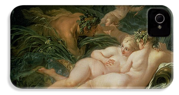 Pan And Syrinx IPhone 4 / 4s Case by Francois Boucher