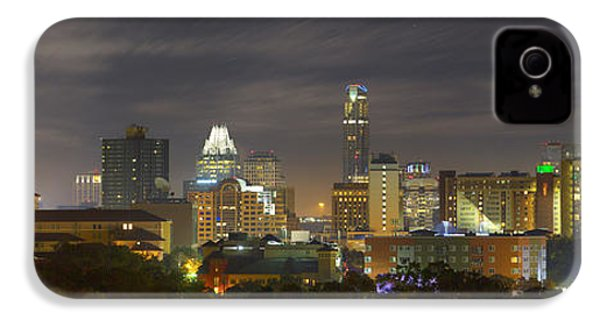 Panorama Of The Austin Skyline On A September Morning IPhone 4 / 4s Case by Rob Greebon