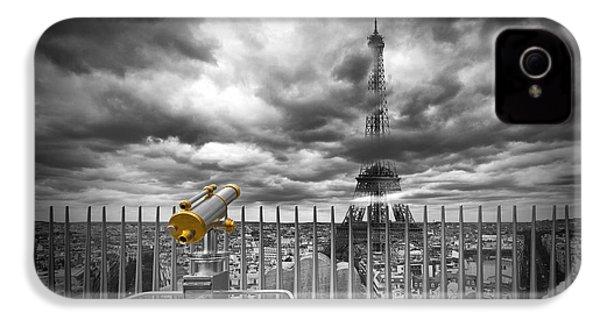 Paris Composing IPhone 4 / 4s Case by Melanie Viola