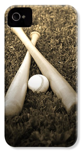 Pastime IPhone 4 / 4s Case by Shawn Wood