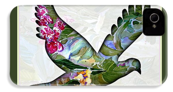 Peace For Peace IPhone 4 / 4s Case by Mindy Newman