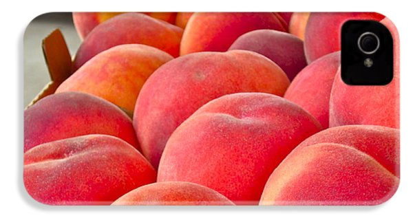 Peaches For Sale IPhone 4 / 4s Case by Gwyn Newcombe