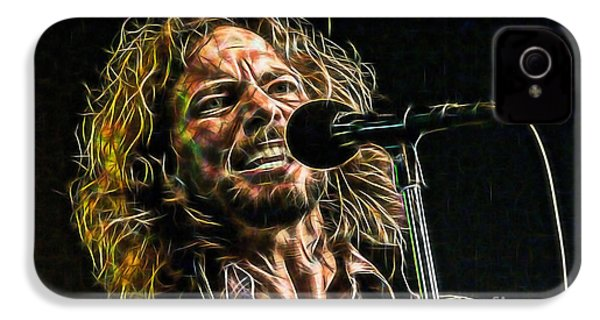 Pearl Jam Eddie Vedder Collection IPhone 4 / 4s Case by Marvin Blaine