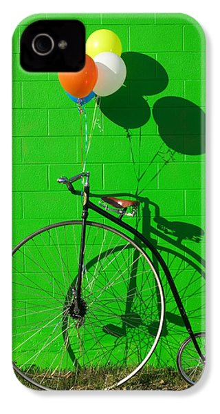 Penny Farthing Bike IPhone 4 / 4s Case by Garry Gay