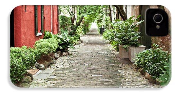 Philadelphia Alley Charleston Pathway IPhone 4 / 4s Case by Dustin K Ryan