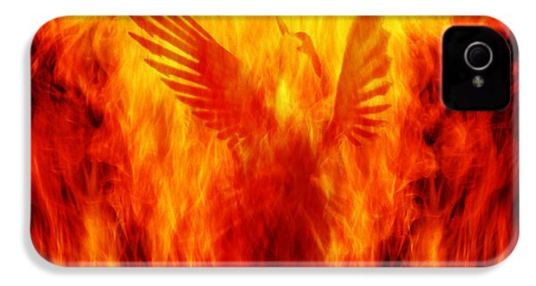 Phoenix Rising IPhone 4 / 4s Case by Andrew Paranavitana