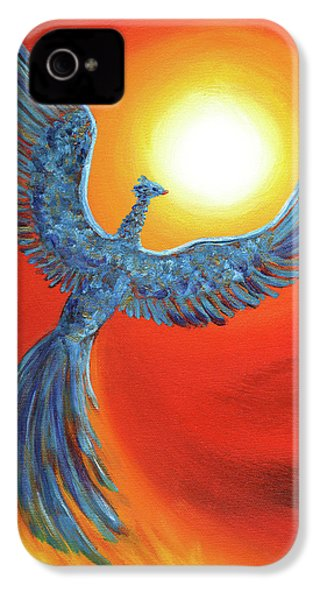 Phoenix Rising IPhone 4 / 4s Case by Laura Iverson