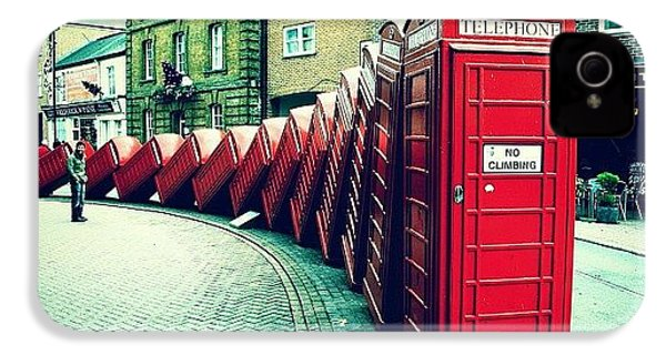#photooftheday #london #british IPhone 4 / 4s Case by Ozan Goren
