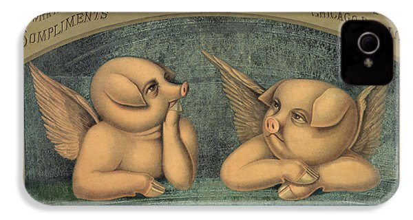 Pigs With Wings IPhone 4 / 4s Case by American School