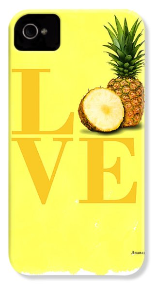 Pineapple IPhone 4 / 4s Case by Mark Rogan