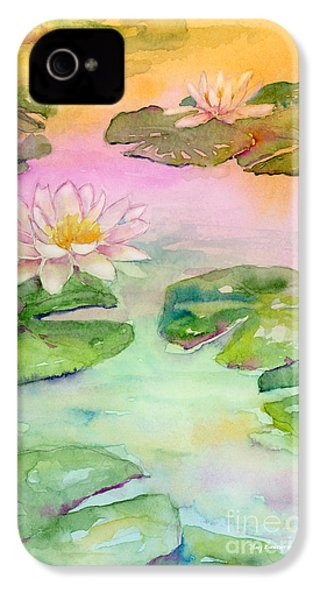 Pink Pond IPhone 4 / 4s Case by Amy Kirkpatrick