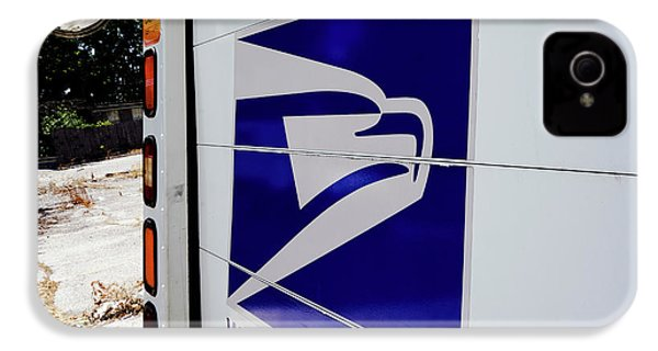 Post Office Truck IPhone 4 / 4s Case by Kenneth Lempert