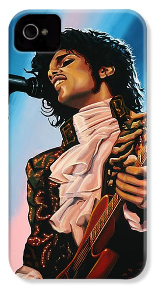 Prince Painting IPhone 4 / 4s Case by Paul Meijering