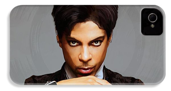 Prince IPhone 4 / 4s Case by Paul Tagliamonte
