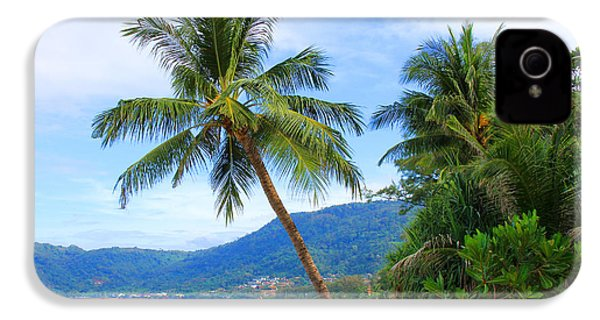 Phuket Patong Beach IPhone 4 / 4s Case by Mark Ashkenazi